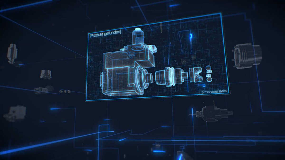 3D-Konfigurator Tool-Arena Rendering